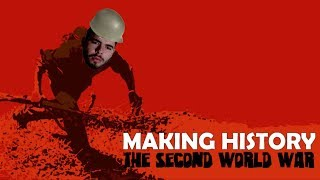 Making History: The Second World War - SIMULADOR DA GUERRA MUNDIAL!!! (Gameplay / PC / PTBR) HD
