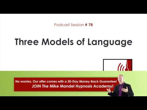 Podcast #78: Three Models of Language