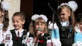 ПЕРШИЙ ДЗВІНОК  ВЕЛИКІ  БІРКИ  1 ВЕРЕСНЯ 2014 р.