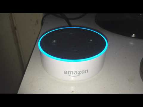 Echo Dot Alexa is Hal 9000