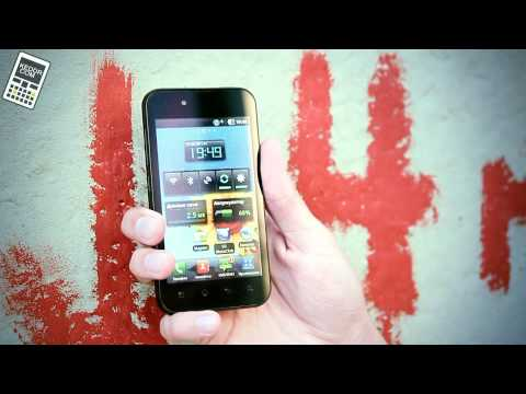 Обзор LG Optimus Black