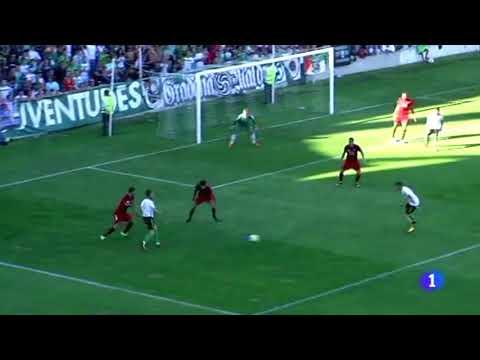 Resumen del partido de liga Racing-Arenas de Getxo (TVE-Cantabria 21/08/17)