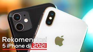 5 Rekomendasi iPhone Paling Layak Dibeli di Tahun 2021 | Semuanya Murah Banget!!
