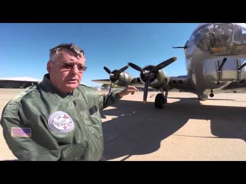 B-17 Flying Fortress Walkaround Aluminum Overcast