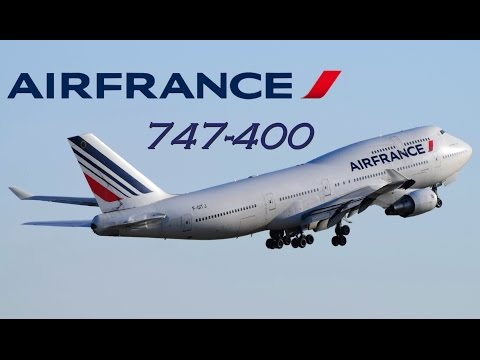 Farewell Air France Boeing 747