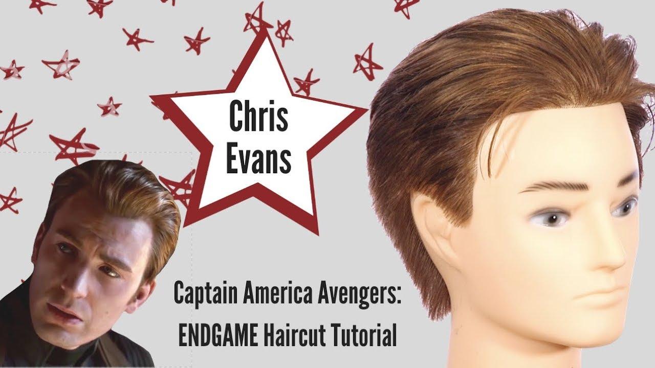 avengers: endgame chris evans captain america haircut tutorial