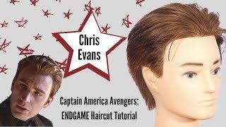 Captain America ENDGAME Haircut - TheSalonGuy