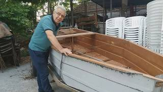 How to make a fishing boat - Πως να  κατασκευάσουμε  βάρκα