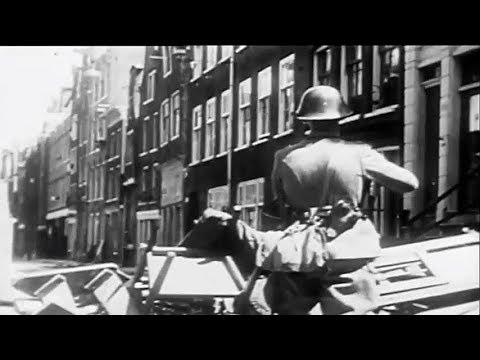 1934: Het Jordaanoproer in de Jordaan te Amsterdam tijdens de crisis in de jaren '30