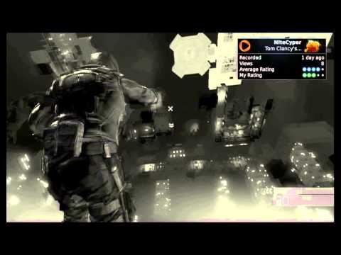 Snap-back fall-out Brag Clips [Splinter Cell: Conviction]