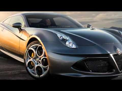 2018 Alfa Romeo Considers 6C Mid Sized Luxury Sedan