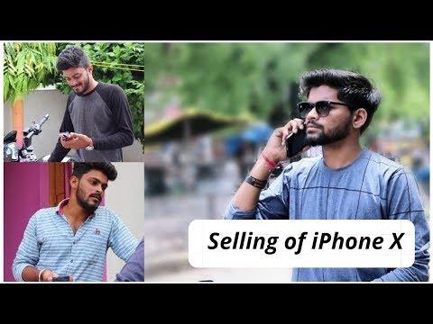 AUV: selling of iphone X  (AMRAVATI)