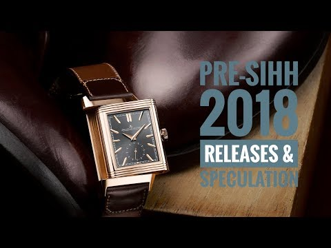 Pre-SIHH 2018 Releases & Speculation