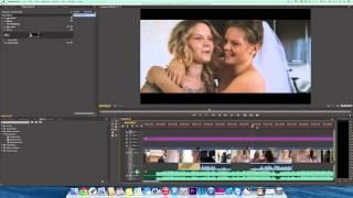 Свадебный клип в Adobe Premiere