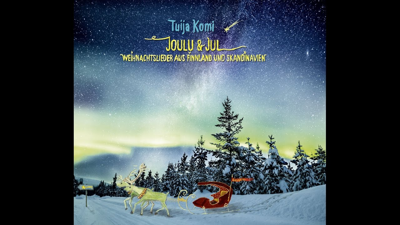 joulu cd 2018 Tuija Komi sings