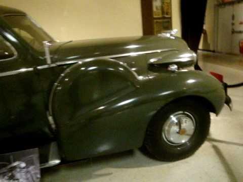 1938 Cadillac Model 75 General Patton's Crash Car