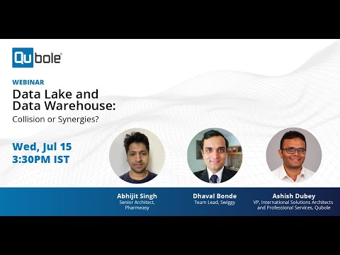 Data Lake And Data Warehouse: Collision or Synergies? Featuring Pharmesy & Swiggy