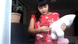 Обзор на мягкую игрушку Hellou Kitti (хелоу китти)