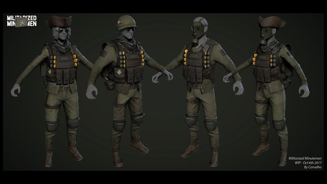 Turn The Minutemen Into A Real Army Upcoming Mods 132