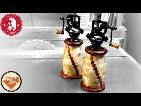 294 Piece Segmented Pepper Grinders (collaboration build)
