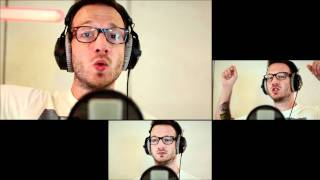"""Gavin DeGraw - """"Not Over You"""" (Chris August A Cappella Cover)"""