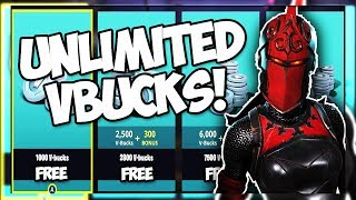 *NOT CLICKBAIT* HOW TO GET FREE UNLIMITED VBUCKS IN JUNE 2018! 100% WORKING (Fortnite Battle Royale)