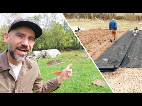 Did our Landscape Fabric Work in the Garden (Come hang in the garden with us)