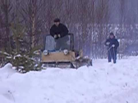 Снегоходы палочники своими руками 580