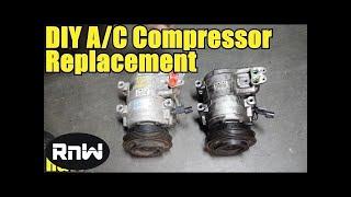 كيفية إزالة و استبدال الضاغط المتردد عالية التفاصيل