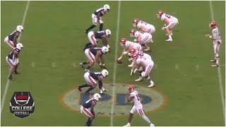 Arkansas Razorbacks Vs. Auburn Tigers | 2020 College Football Highlights