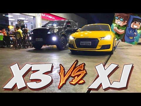 Arrancada X3 vs XJ No Semáforo E PAC Na Area