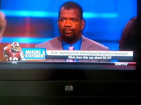 ESPN`s Rob Parker calling RGIII a 'Cornball Brother ' on First Take