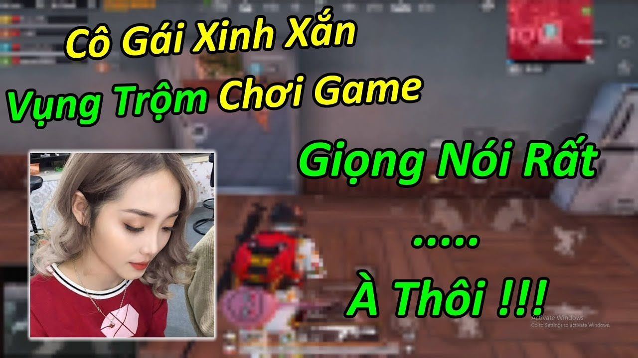Random Gặp Cô Gái Xinh Xắn Trốn Ba Mẹ Chơi Game. Có Giọng Nói Vô Cùng… À Thôi… | PUBG Mobile