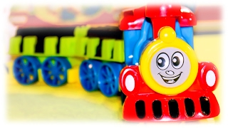 "VIDEO FOR CHILDREN ""Music Train"" Toy Railway with for Toddlers"