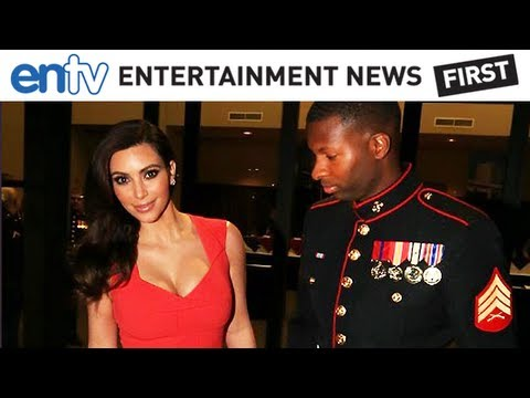 Kim Kardashian Goes On Charity Date To Marine Corps Ball: ENTV