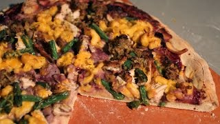 Thanksgiving Leftovers Pizza | Foodbeast Kitchen