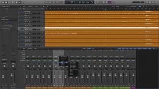 Creating A Drum Bus Logic Pro X
