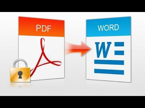 Convertir pdf a word - convertir word en pdf 2013 - 2015