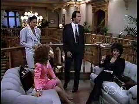 DYNASTY The UNANSWERED Balcony Cliffhanger