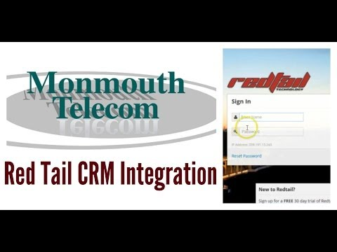 Monmouth Telecom Red Tail CRM Integration