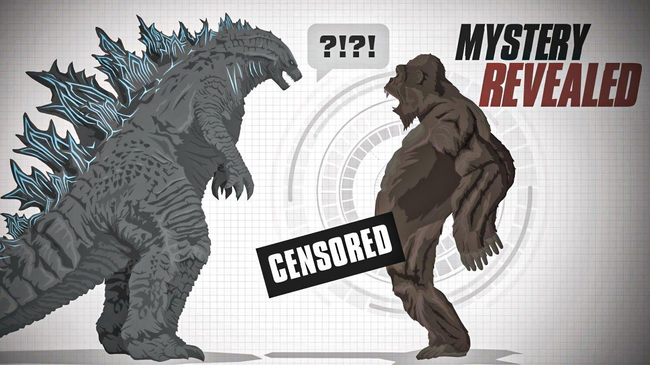 Do Godzilla and Kong have balls?