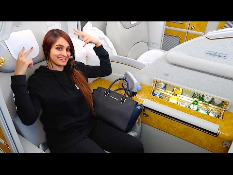 Thumbnail: THE $21,000 FIRST CLASS AIRPLANE SEAT !!!