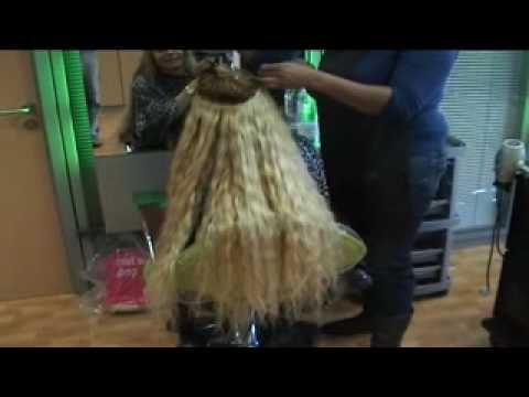 Extensiones de pelo humano cortina cosida youtube - Extensiones de pelo natural cortinas ...