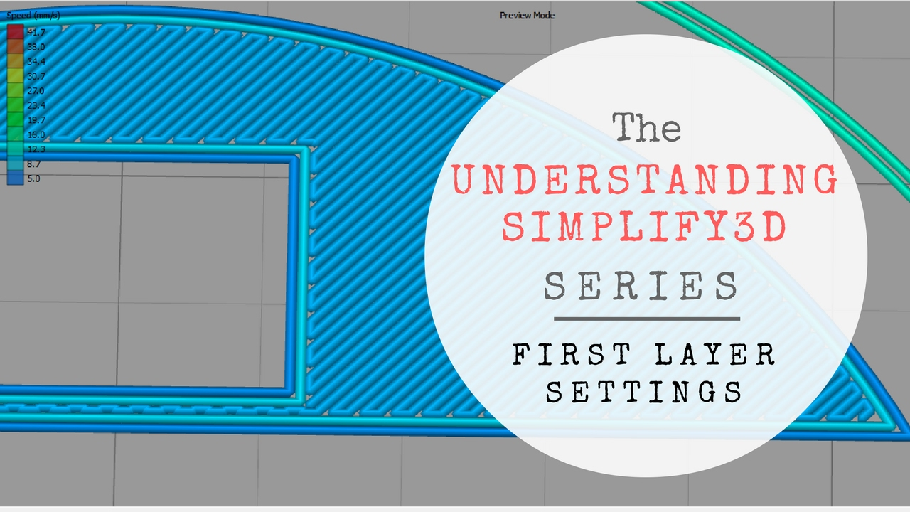Understanding Simplify3D: First Layer Settings