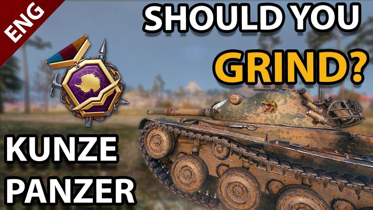 Download SHOULD you GRIND The KUNZE PANZER ? - Battle Pass Reward Tank Review
