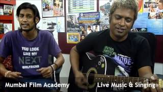 Learn Music, Guitar, Singing, Keyboard, Recording, Editing in Mumbai Film Academy.