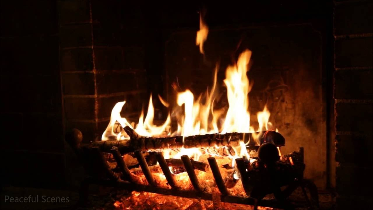 Relaxing Virtual Fireplace Video Crackling Fireplace Loop Youtube Hd 1080p Relaxing Virtual Fireplace Video - Crackling Fireplace
