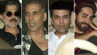 Tiger Zinda Hai Celebrity Screening   Akshay Kumar, Karan Johar & MORE
