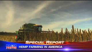 KUSI San Diego: Hemp Farming in America (Part 1)