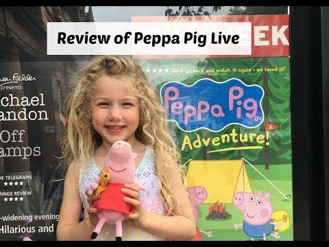 Peppa Pig S Adventure Live Show Review Wander Mum
